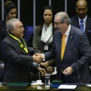 Delações da Odebrecht colocam Temer no colo de Eduardo Cunha