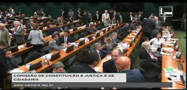 CCJ ao vivo: a sessão de apresentação do parecer de Zveiter