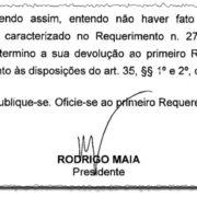 Rodrigo Maia cede a lobby da bancada da bala e aborta CPI da Taurus